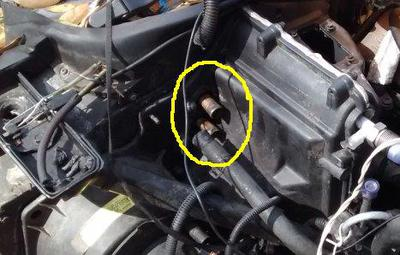 1988 C4 Vette Direction Of Coolant Flow To Heater Core