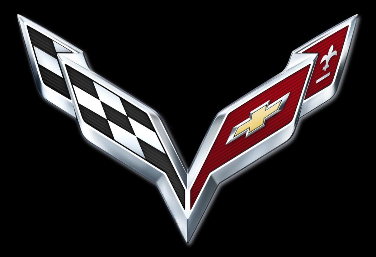 2014 C7 Corvette Emblem