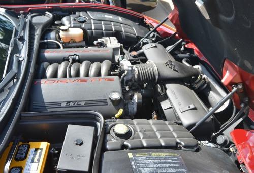 C5 Corvette Engine Bay