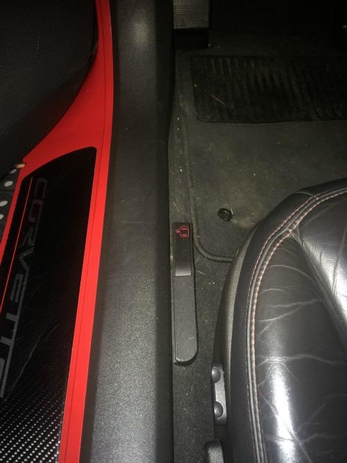 C6 Corvette Emergency Door Release