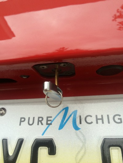 C6 Corvette Emergency Trunk Key