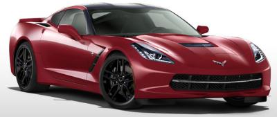 2014 Corvette Crystal Red