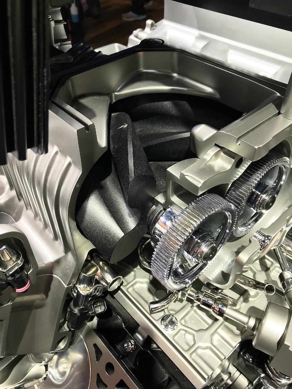 ZR1 LT5 Supercharger Lobe cut-away