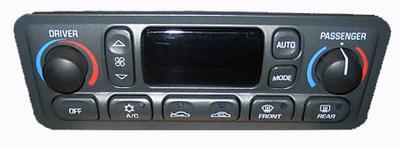 C5 Corvette Auto HVAC Control Panel