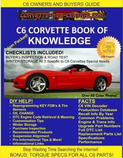 C6 Corvette Buyers Guide