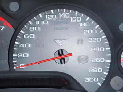 is the 300 MPH speedometer stock on the 2002 corvette?